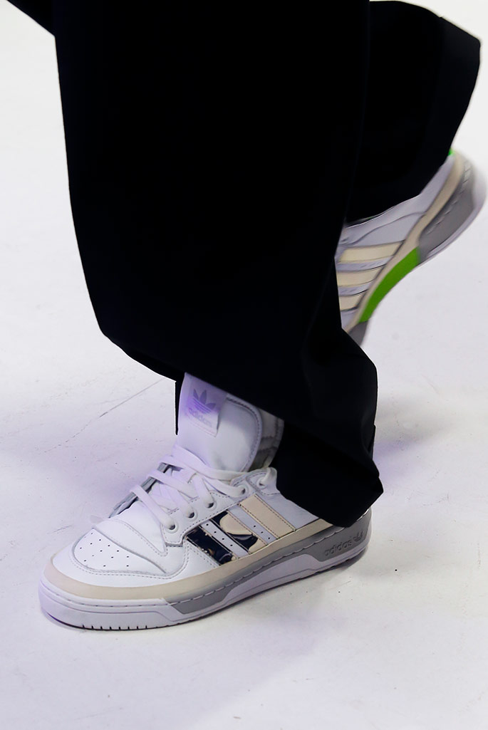 Sankuanz x Adidas Originals fall 2020, Paris Men's Fashion Week.