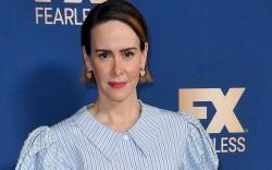 Sarah Paulson poses at the the