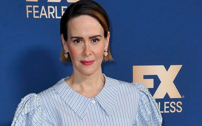 Sarah Paulson poses at the the FX portion of the Television Critics Association Winter press tour, in Pasadena, Calif2020 Winter TCA - FX Starwalk - 09 Jan 2020