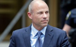 Attorney Michael Avenatti leaves a courthouse