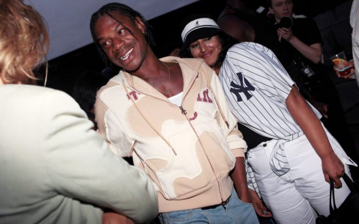 Telfar Clemens in the front rowTelfar show, Front Row, Spring Summer 2020, New York Fashion Week, USA - 06 Sep 2019