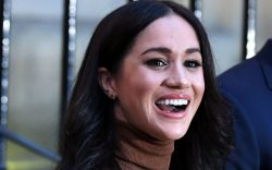 Meghan markle, Duchess of Sussex reacts