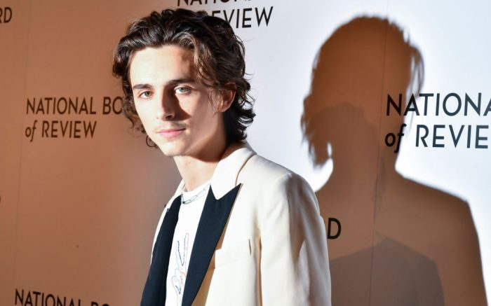 Timothee ChalametNational Board of Review Annual Awards Gala, Arrivals, Cipriani 42nd Street, New York, USA - 08 Jan 2020