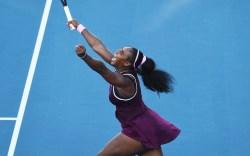 United States Serena Williams celebrates winning