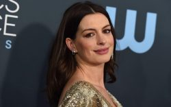 Anne Hathaway arrives at the 25th