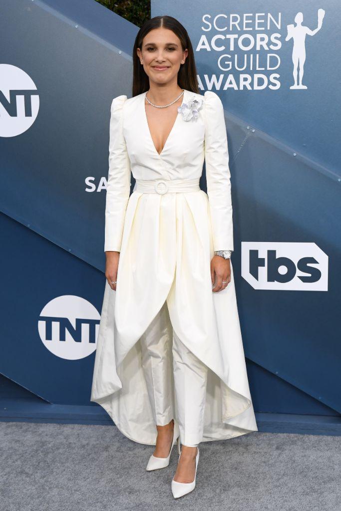 Millie Bobby Brown, SAG awards, Los Angeles,