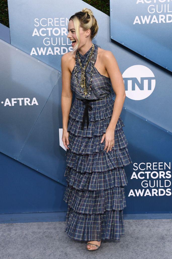 Margot Robbie, SAG awards, Red Carpet, 2020