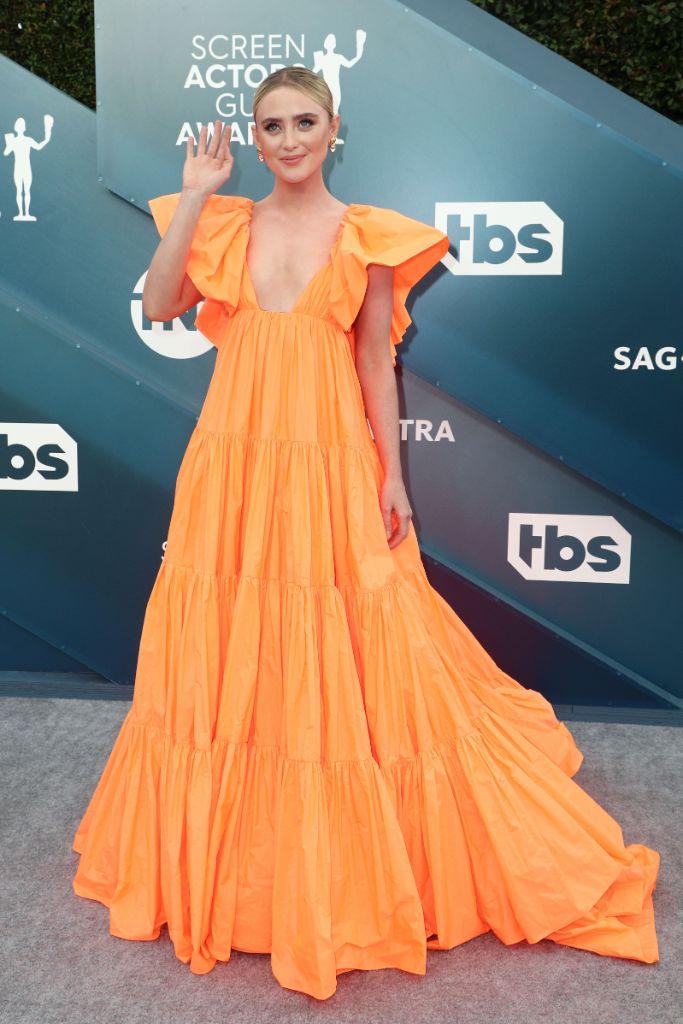 Kathryn Newton, valentino, celebrity style, sag awards