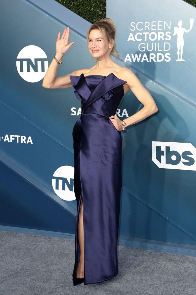 Renee Zellweger26th Annual Screen Actors Guild Awards, Arrivals, Shrine Auditorium, Los Angeles, USA - 19 Jan 2020