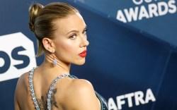 Scarlett Johansson arrives for the 26th