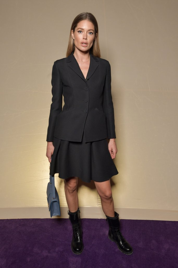 Doutzen Kroes in the front rowDior show, Front Row, Spring Summer 2020, Haute Couture Fashion Week, Paris, France - 20 Jan 2020 Wearing Dior