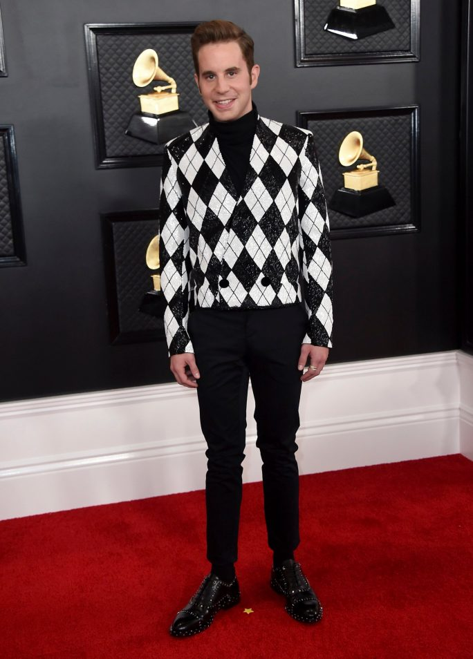 Ben Platt arrives at the 62nd annual Grammy Awards at the Staples Center, in Los Angeles62nd Annual Grammy Awards - Arrivals, Los Angeles, USA - 26 Jan 2020
