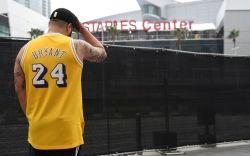 Kobe Bryant, L.A. Fan Memorial