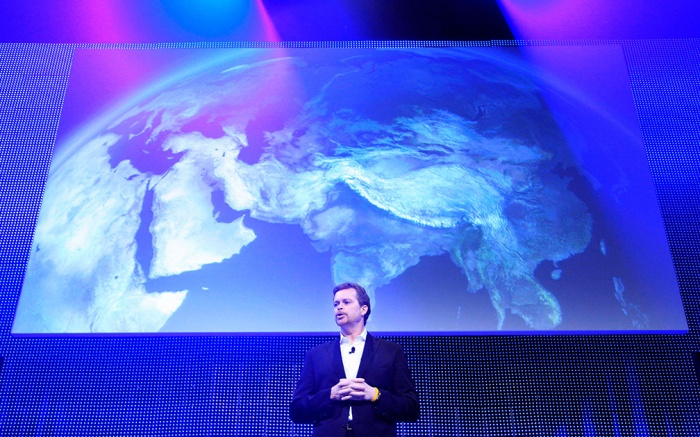 Mark Parker Mark Parker, CEO of Nike, discusses the company's global strategy at Nike Investor Day, in New York. Parker says the company plans to increase revenue to $27 billion by 2015 by driving growth in international markets and among its array of brandsNike Meeting, New York, USA
