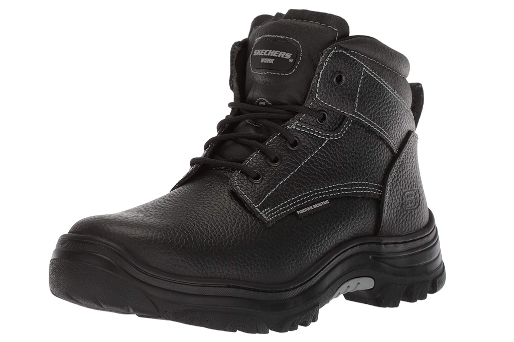 skechers lace-up boots