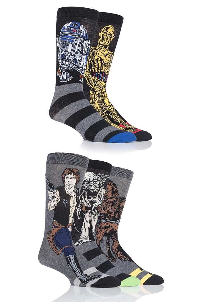 SockShop star wars socks