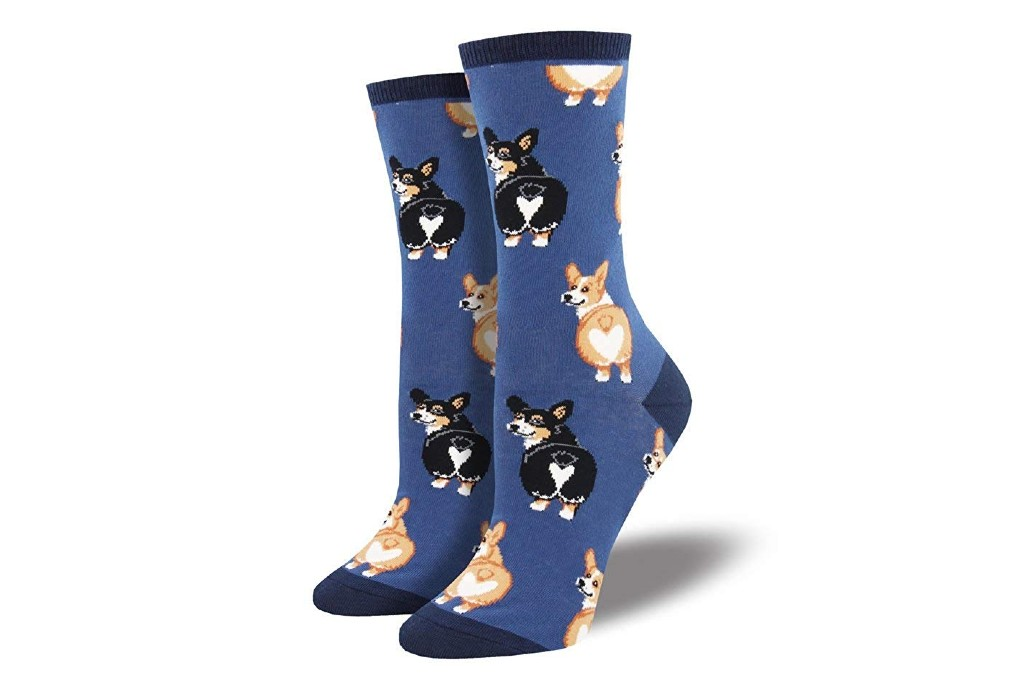 socksmith corgi butt socks
