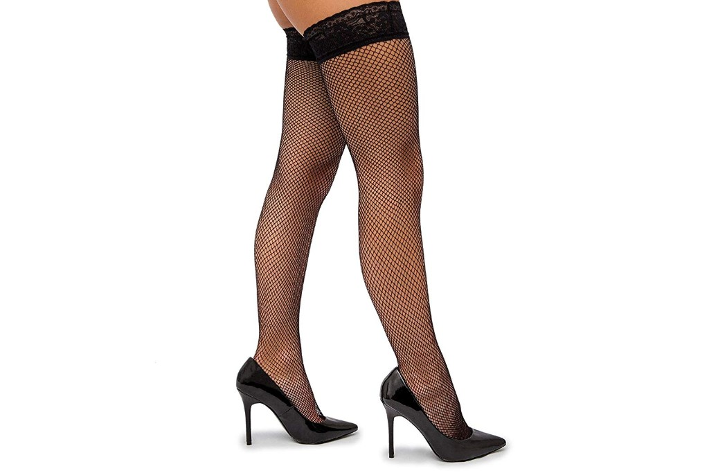 Sofsy Fishnet Thigh High