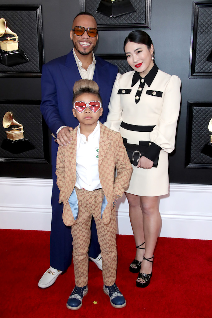 Anderson .Paak and family 62nd Annual Grammy Awards, Arrivals, Los Angeles, USA - 26 Jan 2020