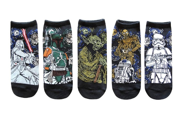 Star Wars Starry Night Socks
