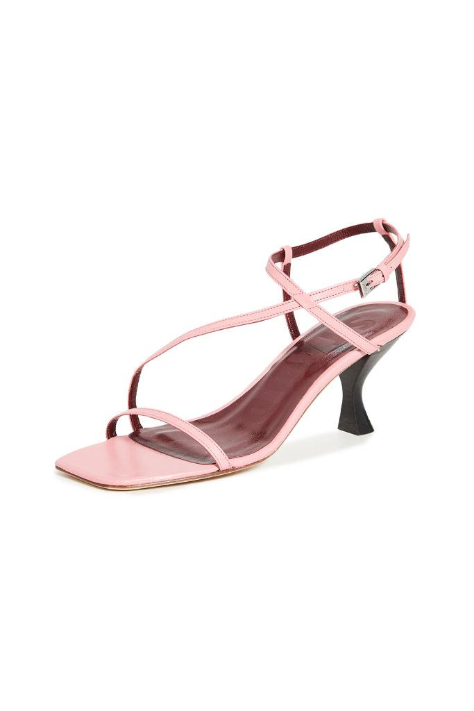 square, toe, sandal, staud, gita