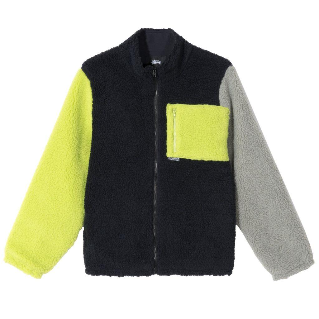 stussy, jacket, 2020, trends, billie eilish