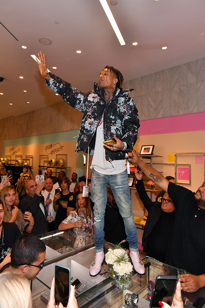 Swae LeeGiuseppe Zanotti x Swae Lee shoe collection launch, Saks Fifth Avenue, Miami, USA - 31 Jan 2020