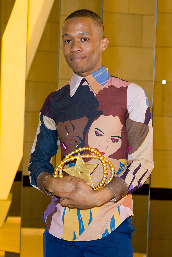 Thebe Magugu wins LVMH Prize, June 2019.