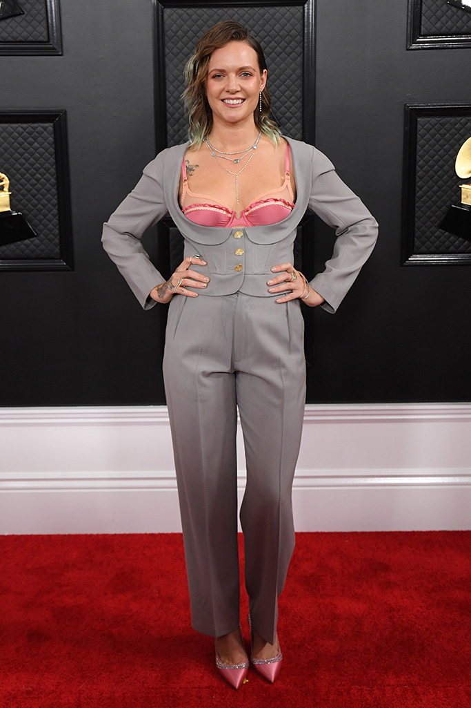 Tove Lo, 62nd Annual Grammy Awards, Arrivals, Los Angeles, USA - 26 Jan 2020Wearing Vivienne Westwood, Vintage