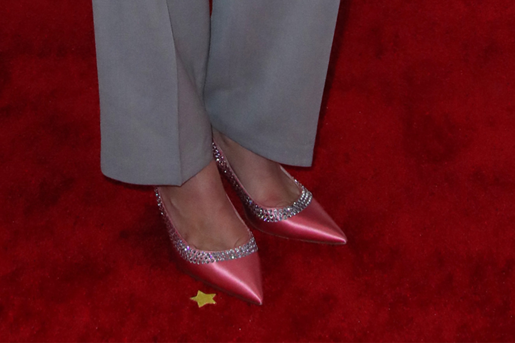 Tove Lo, pink pumps, miu miu shoes, red carpet, grammy awards, 2020 grammys, celebrity style