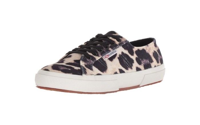 superga leopard sneakers