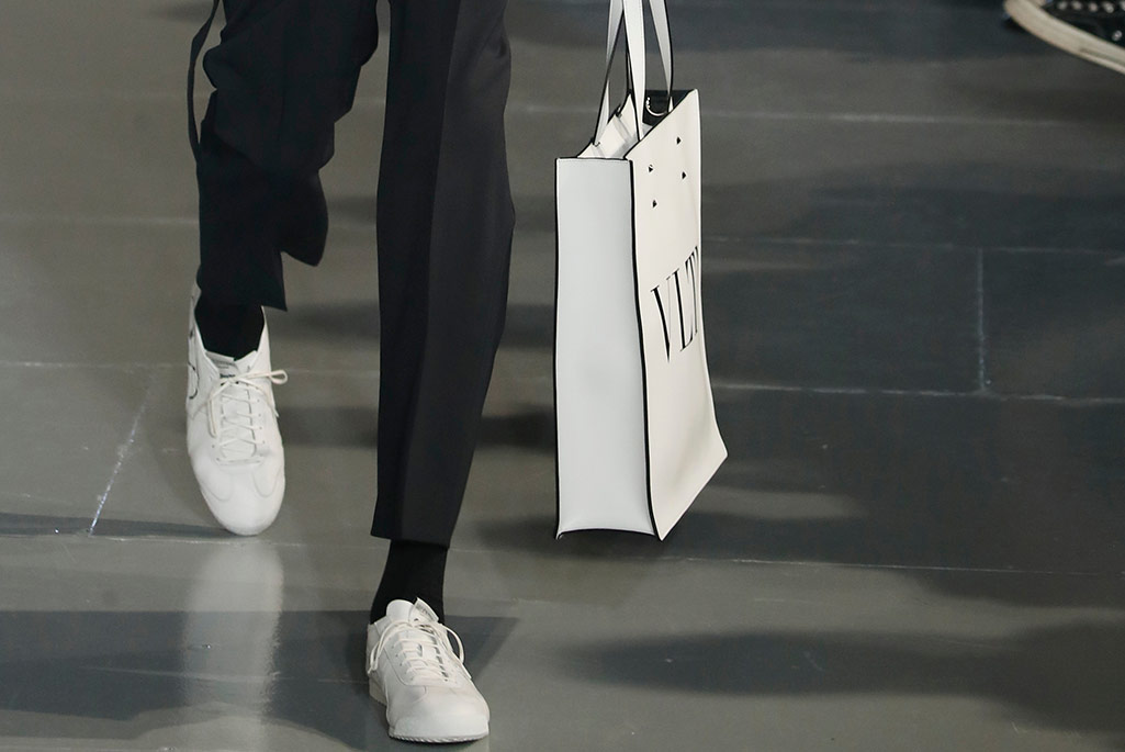 Valentino men's fall 2020, Paris Fashion Week.
