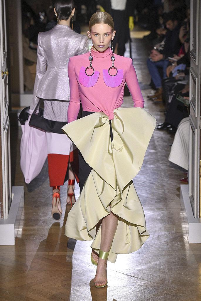 Alexandre Vauthier haut couture, spring '20, Paris Couture Week.