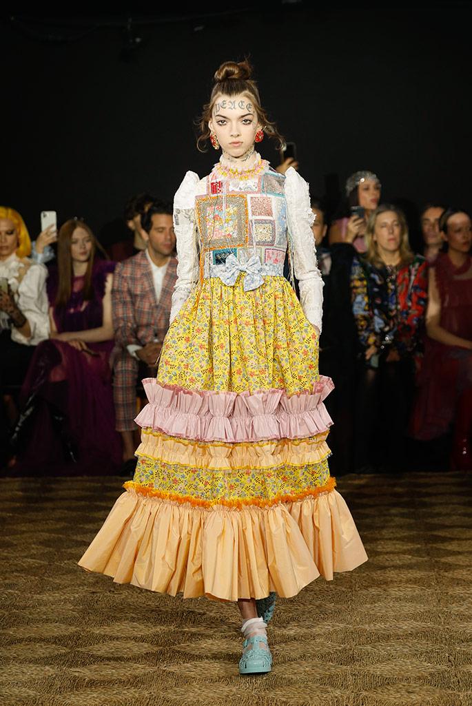 Viktor & Rolf haut couture, spring '20, Paris Couture Week.