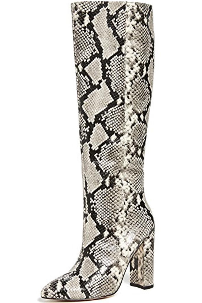 Villa Rogue , snake print boots