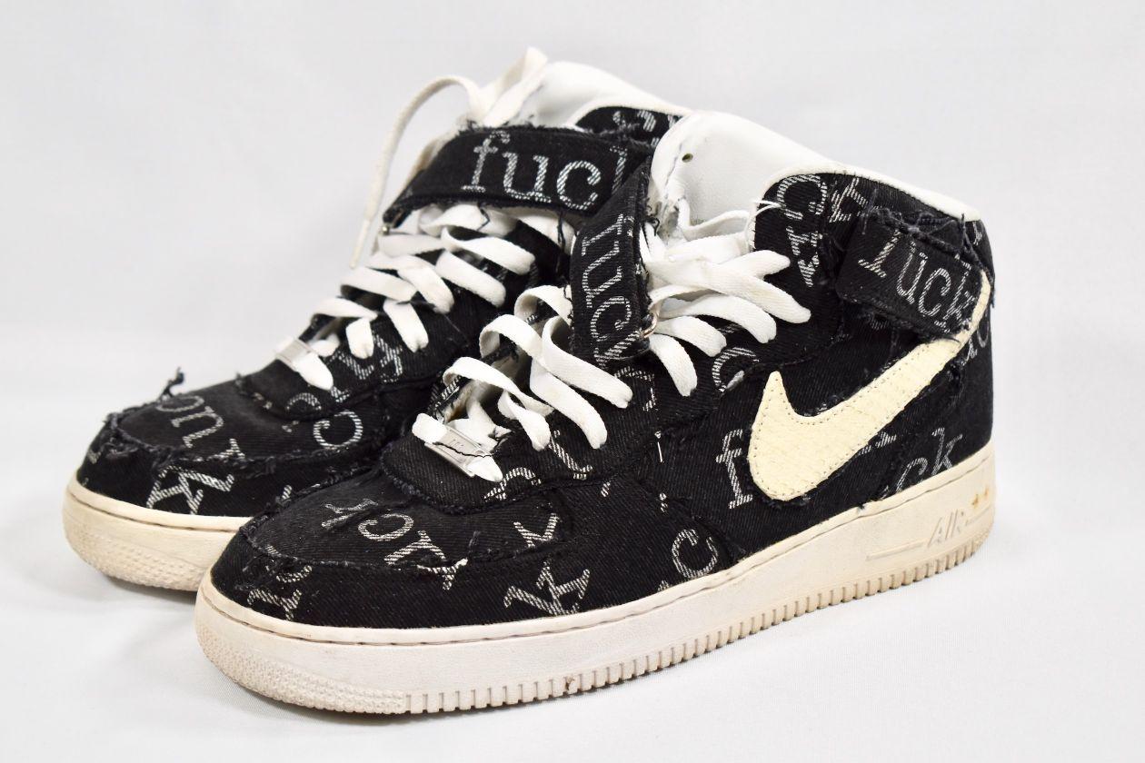"""JBF Customs x Nike Air Force 1 """"Supreme F&ckery"""""""