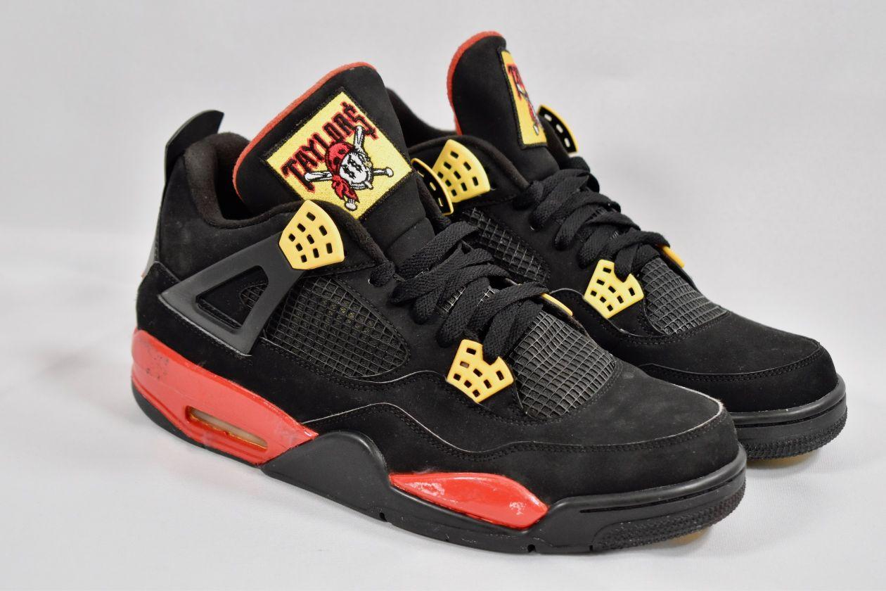Air Jordan Retro 4 'Taylor Gang' Customs by Hippie Neal