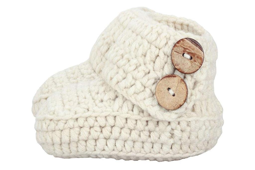 zefen knit crib shoes