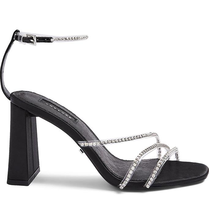 Topshop crystal footwear