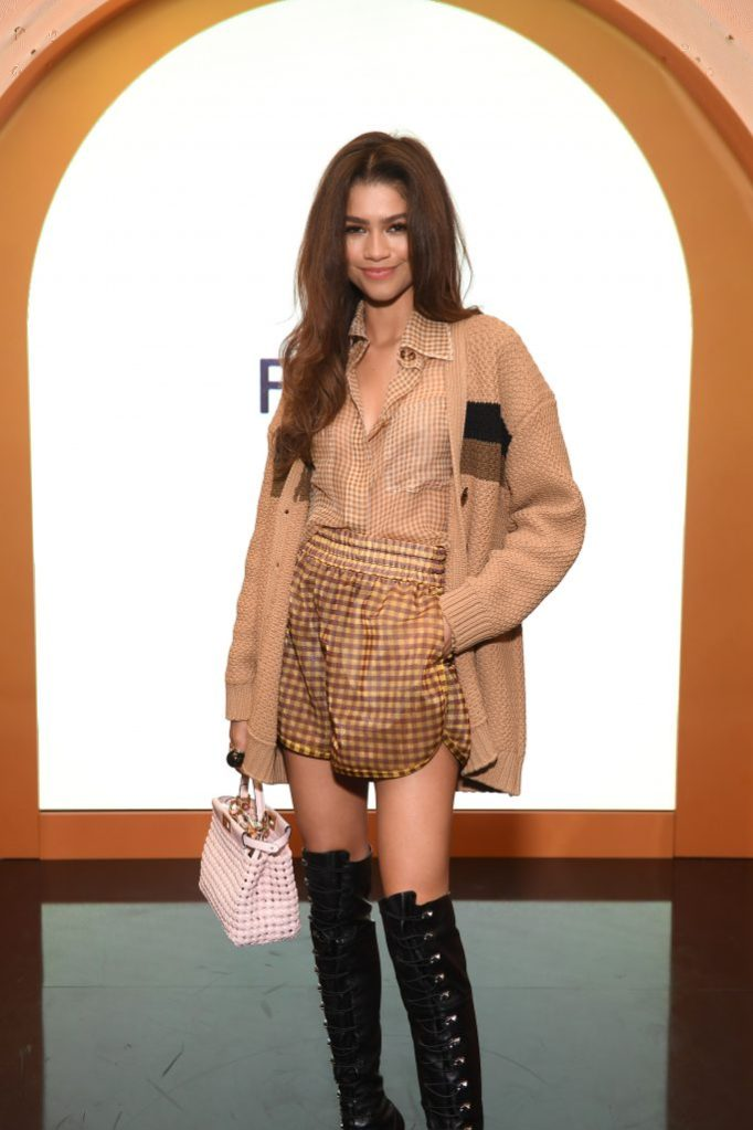 NEW YORK, NEW YORK - FEBRUARY 05: Zendaya attends The Launch of Solar Dream hosted by Fendi on February 05, 2020 in New York City. (Photo by Noam Galai/Getty Images for Fendi)