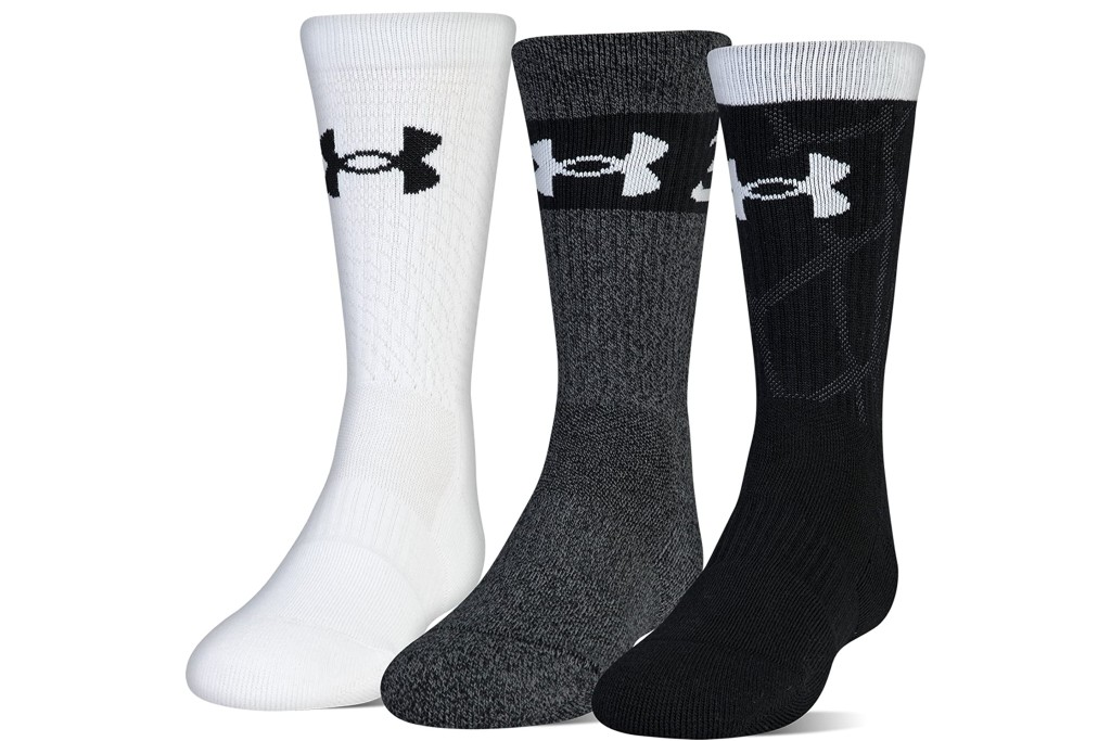 basketball socks for girls, Under Armour Youth Phenom Curry Crew Socks