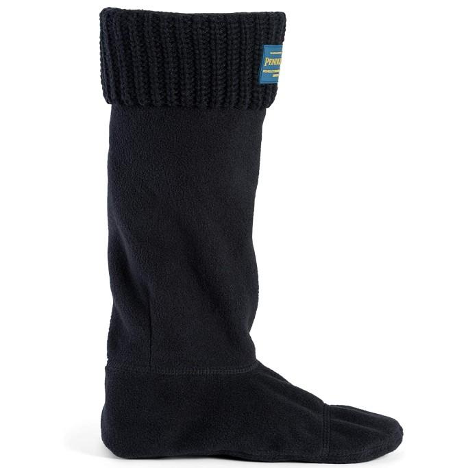 Pendleton Women's Tall Shaker Stitch Thermal Boot Sock, rain boots socks