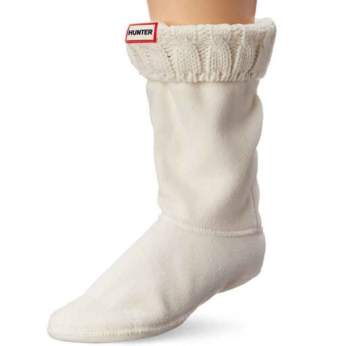 Hunter Women's 6 Stitch Cable Boot Socks, rain boot socks