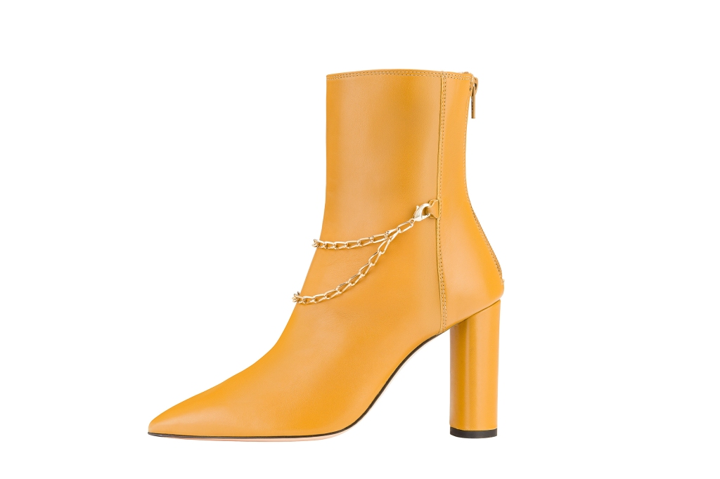 agl, boots, MFW, milan fashion week, yellow boot, chain, fall 20, fw20