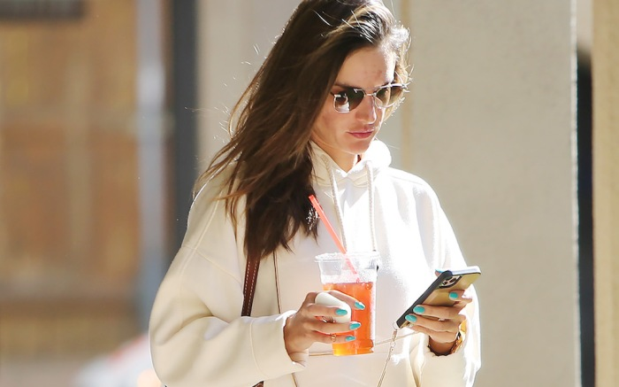 Alessandra Ambrosio going to her dermatologist in Santa MonicaAlessandra Ambrosio out and about, Los Angeles, USA - 20 Feb 2020