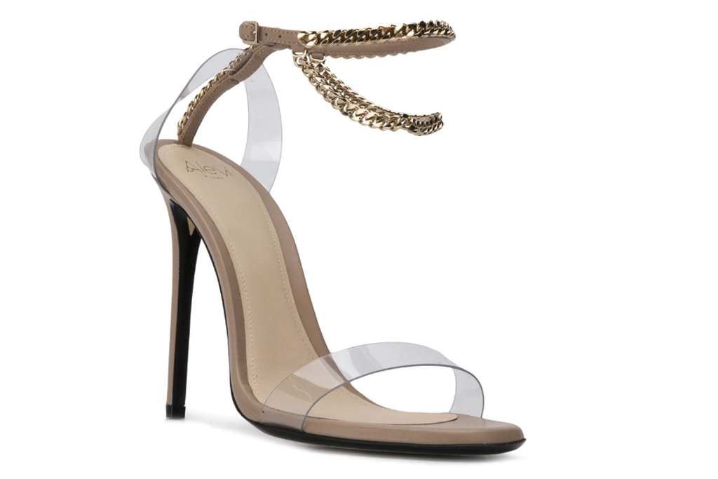 Alevi Milano, sandals, clear shoes, anklets,
