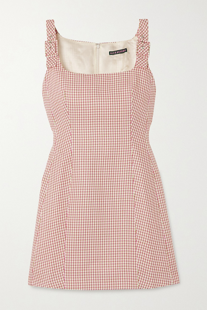 Alexa Ching pinafore dress