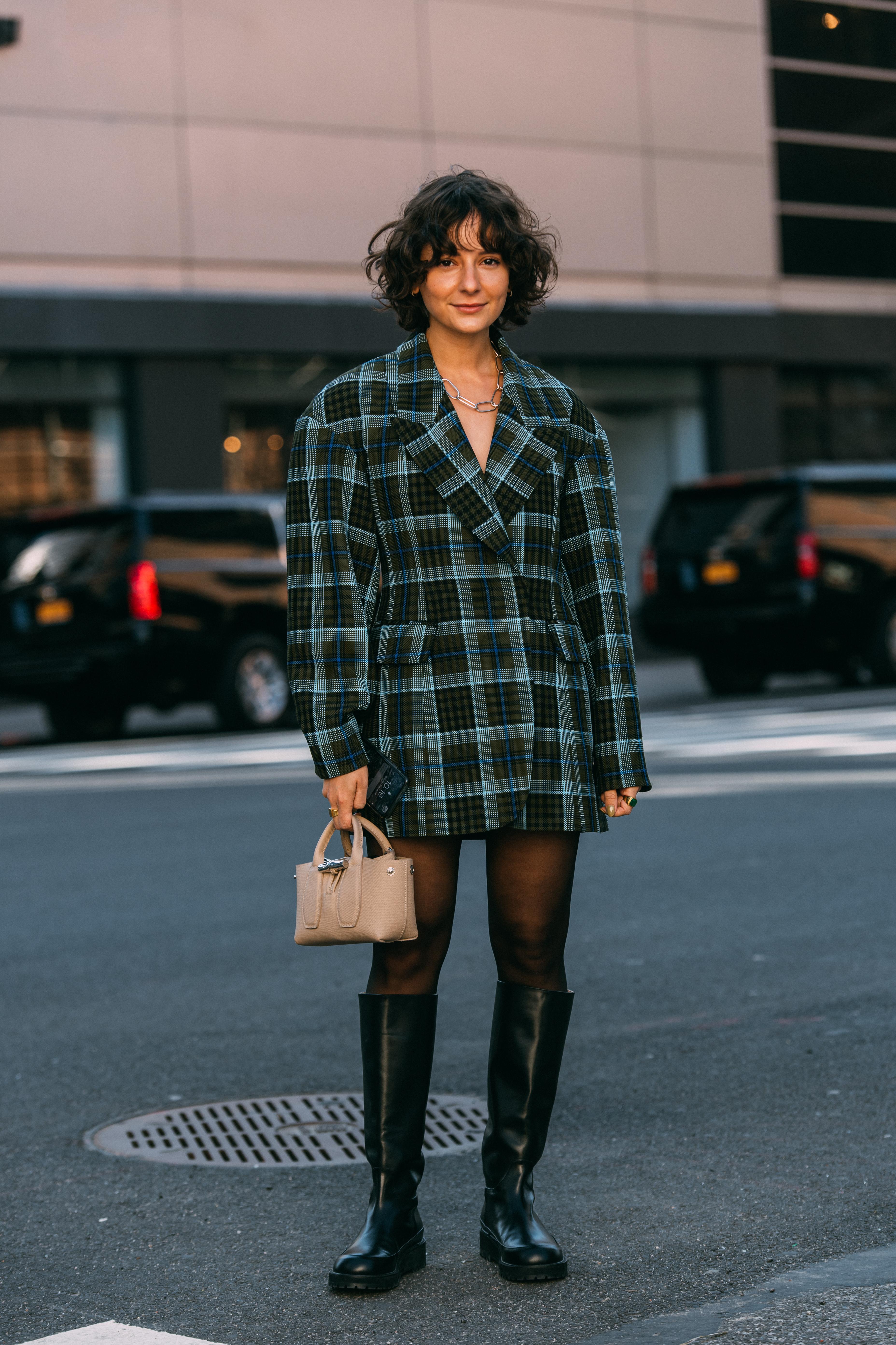 Alyssa Coscarelli New York Fashion Week Street Style