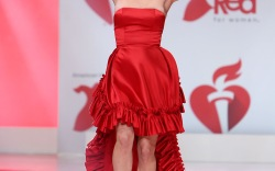 American Heart Association's Go Red for Women Runway Show