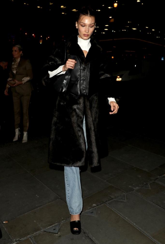 Bella hadid, london fashion week
